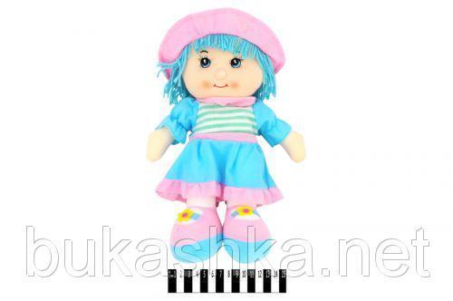 Кукла мягкая  муз. в капюшоне 84A14 (ABC)  р.36х21 см./120/