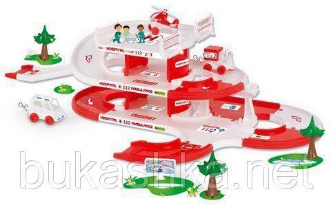 """Игровой набор """"Скорая Kid Cars 3D"""""""