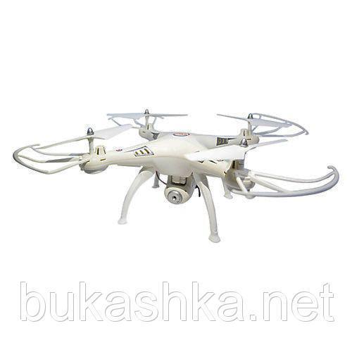 Квадрокоптер с очками виртуальной реальности (белый)