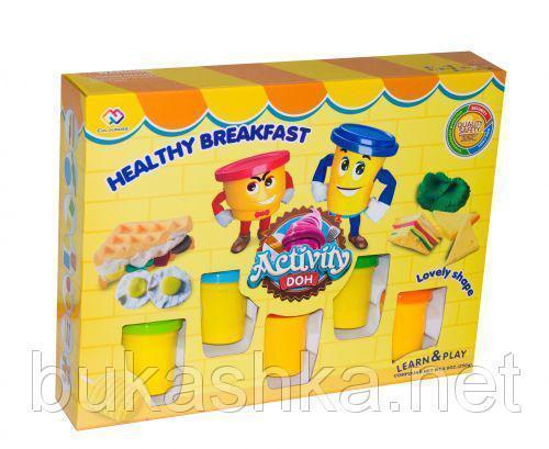 """Пластилин """"Здоровый завтрак"""""""