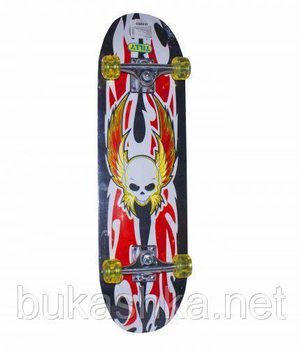 Скейт вид 6 BT-YSB-0005 колеса PU 70*20*1,1 подвеска жесткая 1,7см 6в.ш.к./6/