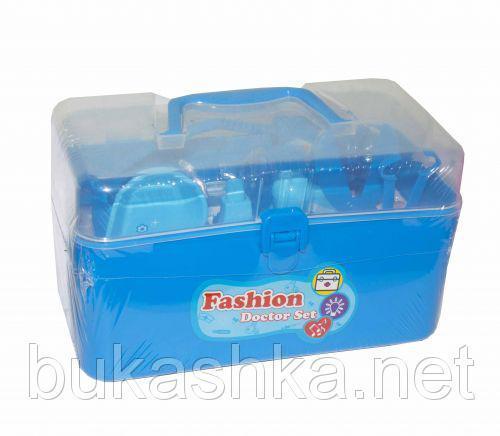 """Докторский набор в чемоданчике """"Fashion Doctor Set"""" (синий)"""