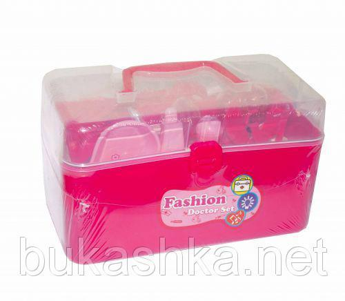 """Докторский набор в чемоданчике """"Fashion Doctor Set"""" (розовый)"""