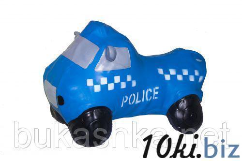 """Прыгун """"Полицейская машина"""" (синяя) Игрушки-качалки, игрушки-прыгуны в Украине"""