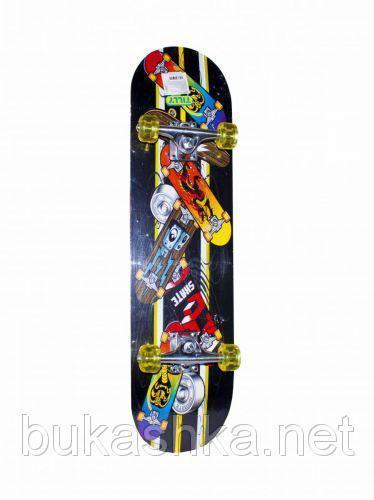 Скейт вид 2 BT-YSB-0053 PU колеса подвеска 1,7см 71*20см 3цв.ш.к./6/