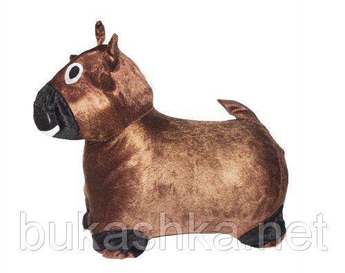 """Прыгун """"Корова"""" (коричневая)"""