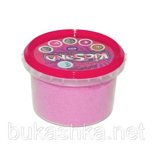"""Кинетический песок """"KidSand"""", розовый, 600 г"""