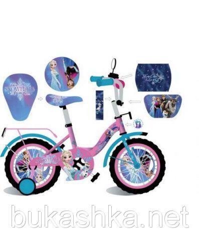 """Велосипед 2-х колесный """"Холодное сердце"""" 20"""""""