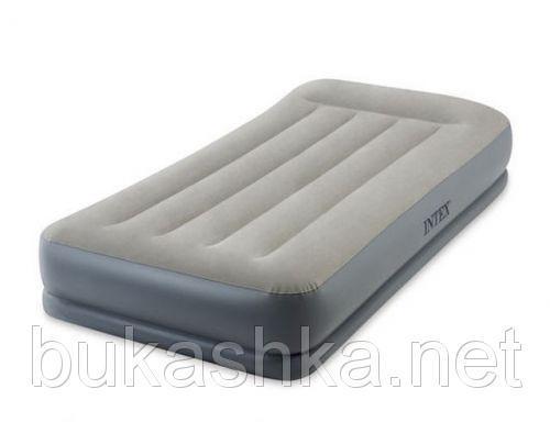 """Одноместная надувная кровать  """"Pillow Rest Mid-Rise Airbed"""""""