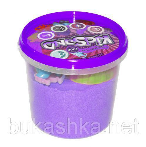 """Кинетический песок """"KidSand"""", фиолетовый, 1000 г"""
