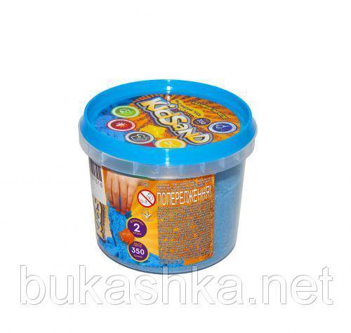 """Кинетический песок """"KidSand"""", синий, 350 г"""