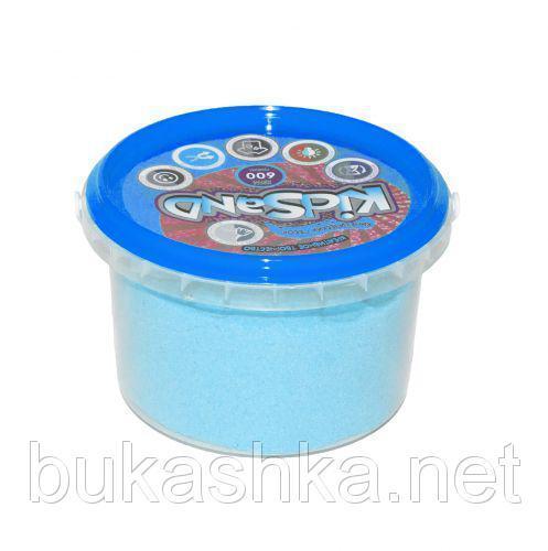 """Кинетический песок """"KidSand"""", голубой, 600 г"""