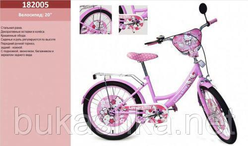 "Велосипед 2-х колесный ""Hello Kitty"" 20"""