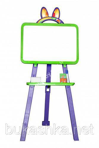 Мольберт для рисования (фиолетово-зеленый)