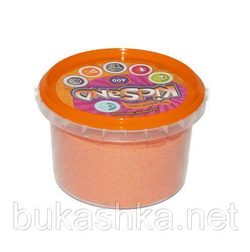 """Кинетический песок """"KidSand"""", оранжевый, 600 г"""
