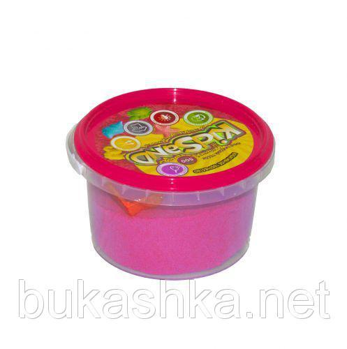 """Кинетический песок """"KidSand"""", розовый, 500 г"""