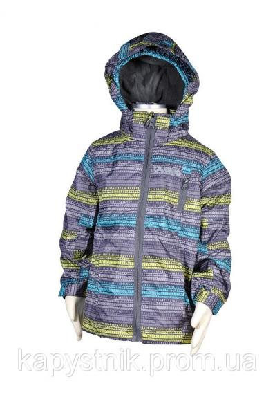 Куртка демисезонная ветровка для мальчика р.116 ТМ Pidilidi-Bugga (Чехия)