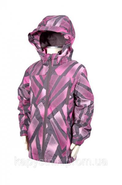 Куртка демисезонная ветровка на девочку р. 98 ТМ PIDILIDI (Чехия)