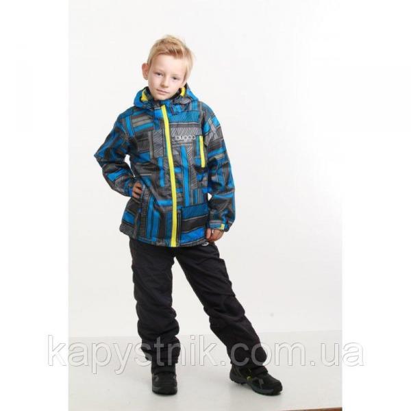 Термокуртка демисезонная ветровка для мальчика р.86-158 ТМ Pidilidi-Bugga (Чехия)