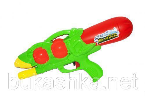 """Водяное оружие """"Flame Dragon"""" с накачкой (зеленое)"""