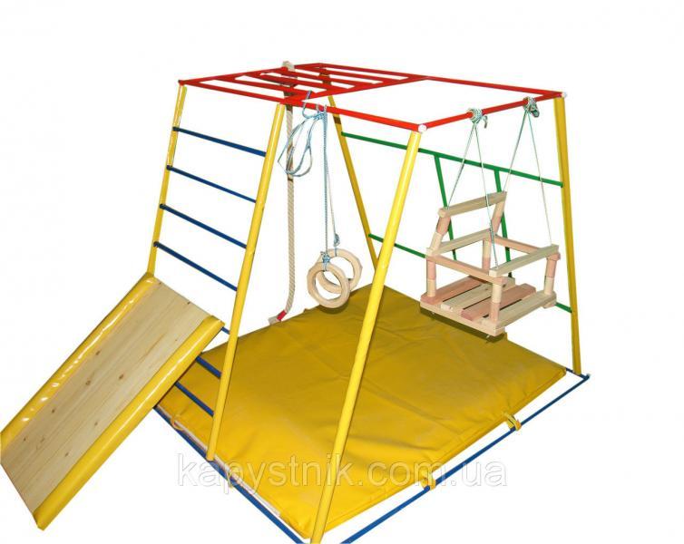 Детский спортивный комплекс Непоседа для малышей, пять различных положений