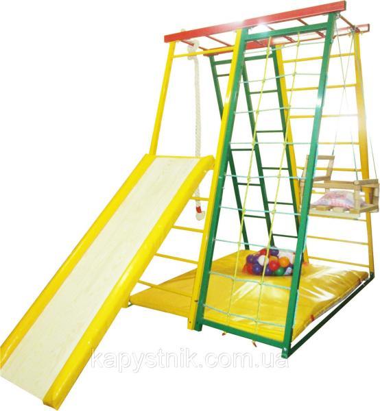 Детский спортивный комплекс Спартанец, идеален для небольших помещений