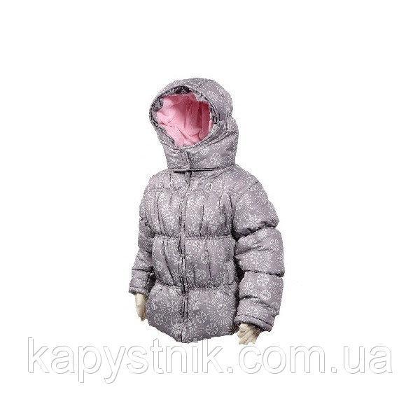 Куртка демисезонная дутая для девочки  р. 98 ТМ Pidilidi-Bugga (Чехия)