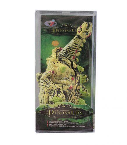 """Игрушка """"Динозавр"""" белый с зелёными шипами"""