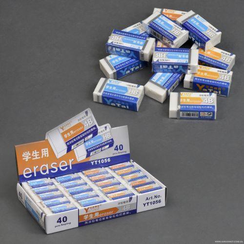 Стирательная резинка 1056 / 555-599 (30) /ЦЕНА ЗА БЛОК/ 40шт в блоке
