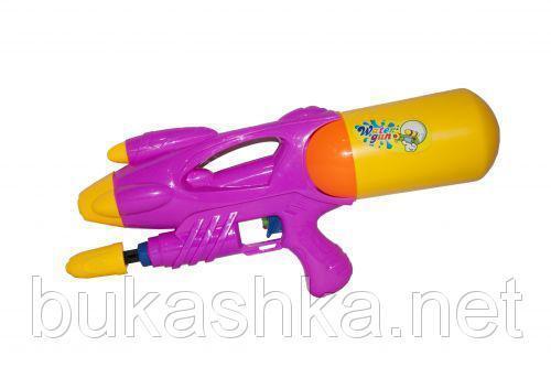 """Водяное оружие """"Water Gun"""" с накачкой (розовое)"""