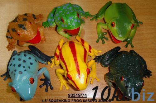 Лягушка резиновая, цена фото купить в Киеве. Раздел Пищащие игрушки