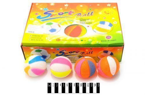 М'ячик  з світ. ефект. (коробка 12 шт.)3388Х р.31х23х8см. /288/