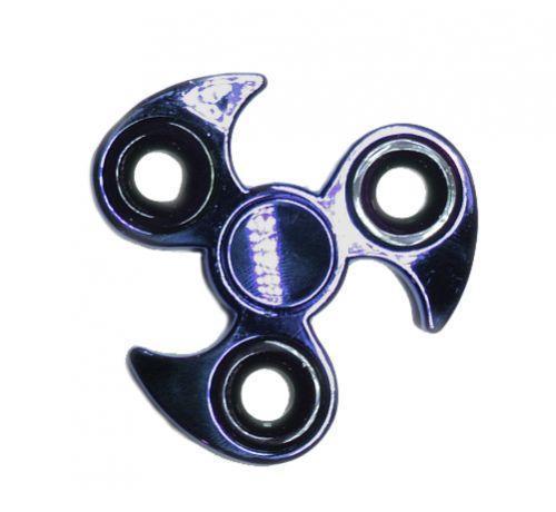 Спиннер (металл, сюрикен, синий)