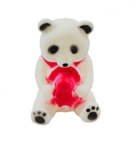 Пищалка для ванной Панда / Долматинец  / Медведь, 10 см