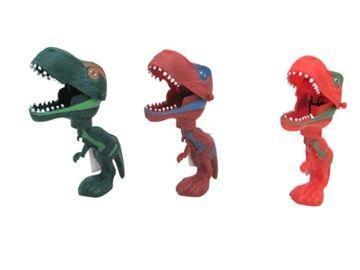 Динозаврик с подвижной челюстью