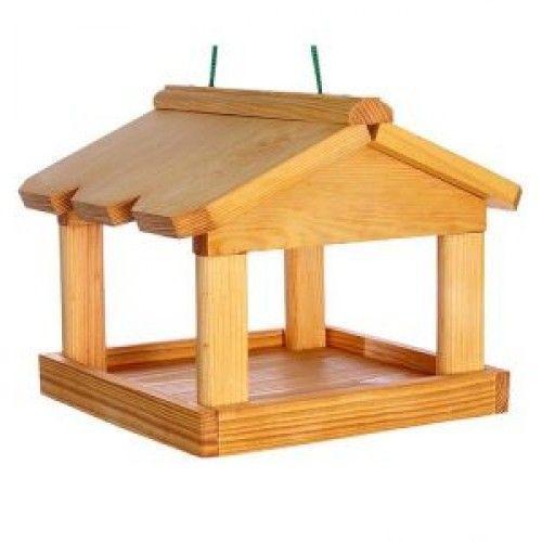 Кормушка деревянная