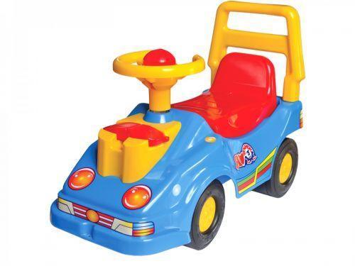 Машинка-каталка ТехноК с телефоном (синяя)