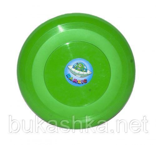 Летающая тарелка зеленого цвета