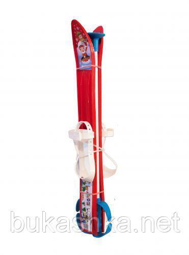 Лыжи 60см красные арт. L60R