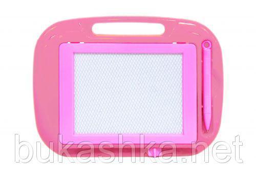 Магнитная доска для рисования (розовая)
