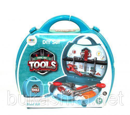 Набор инструментов в чемодане (24 элемента)