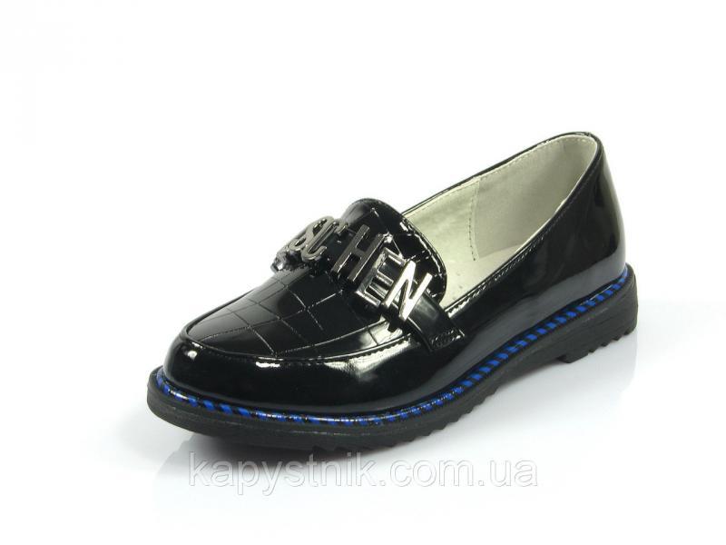 Туфли детские р.30-37 ТМ J&G: C9697-0