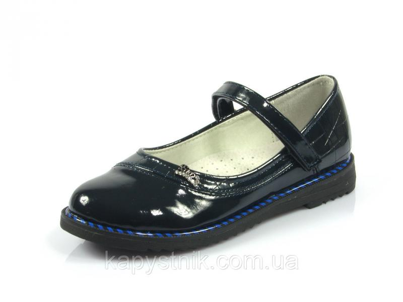 Туфли детские р.30-37 ТМ J&G: C9698-1