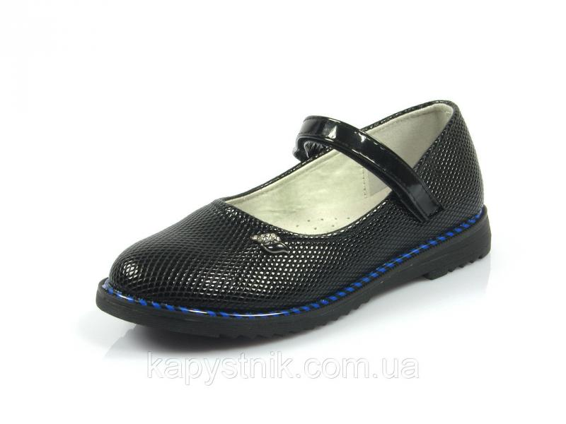 Туфли детские р.30-37 ТМ J&G: C9699-0