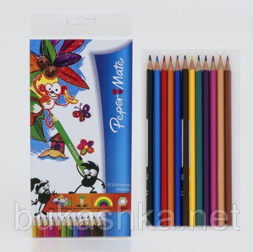 "Цветные карандаши ""Peper Mate"" (12 цветов)"