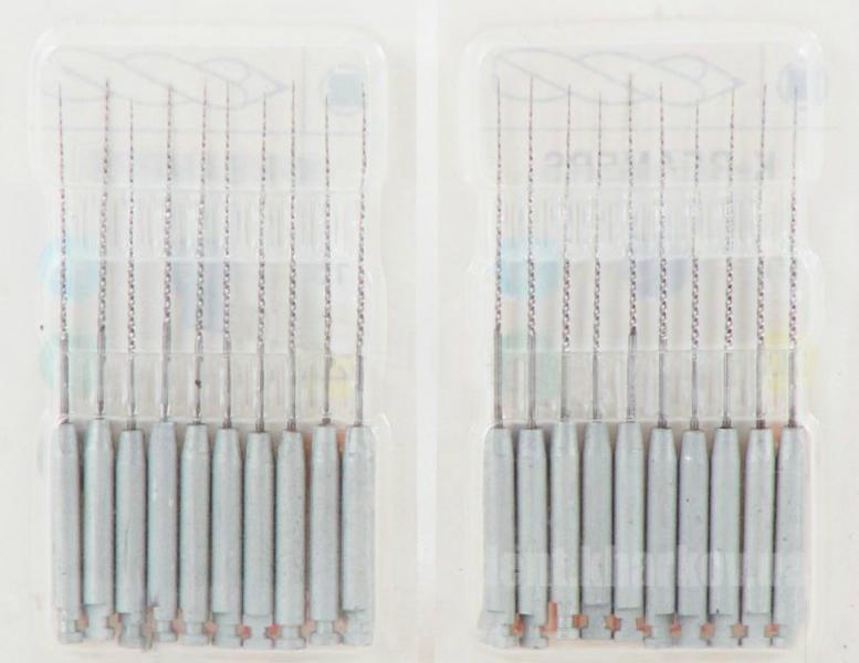Фото Для стоматологических клиник, Эндоинструменты Дрильборы угловые (каналорасширители) K-Reamer Avicenna (К-Ример Авиценна)