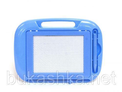 Магнитная доска для рисования (голубая)
