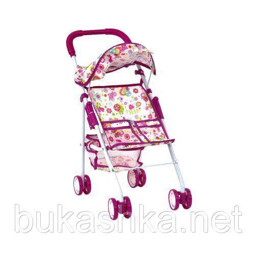 "Коляска ""Doll Stroller""(бело-розовая)"