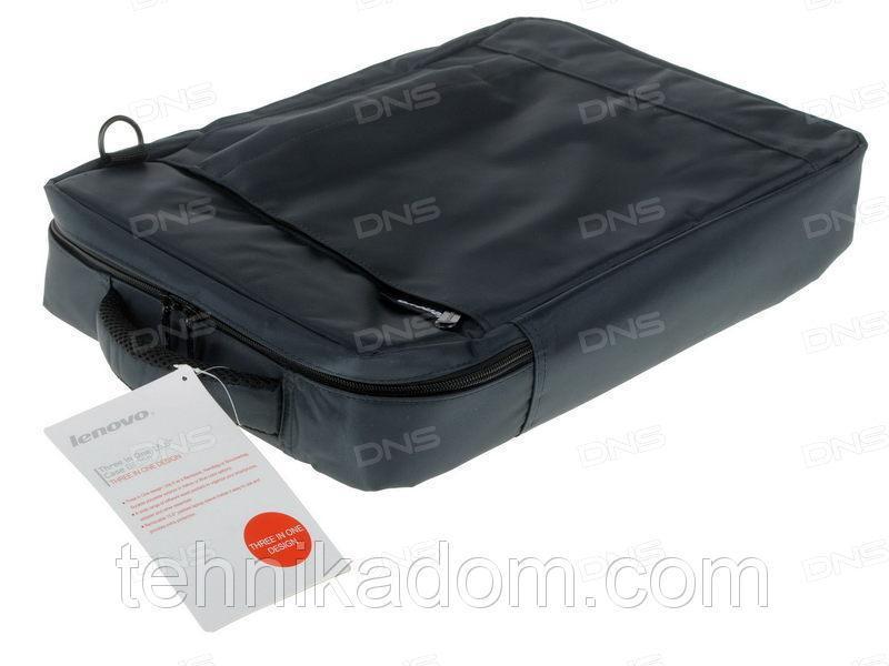 Рюкзак-сумка для ноутбука Lenovo Three in One 15.6 B4050 темно-синий