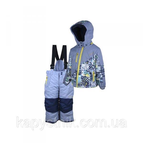 Зимний термокомбинезон, лыжный Ski tour для мальчика р.98-158 ТМ Pidilidi-Bugga (Чехия)